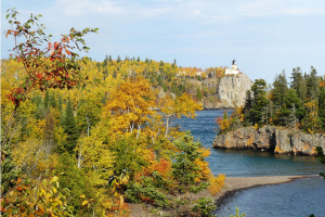 Split Rock Lighthouse near AmericInn Lodge & Suites Two Harbors.