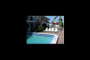 Outdoor pool at Surf Side Resort.