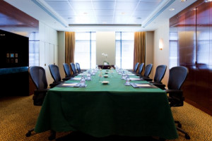 Meeting room at Sofitel Washington D.C. Lafayette Square.
