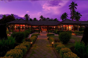 Exterior view of Naviti Resort.