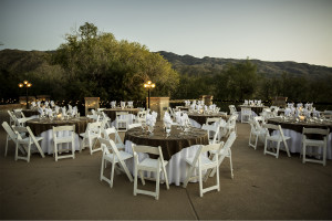 Wedding venue at Tanque Verde Ranch.