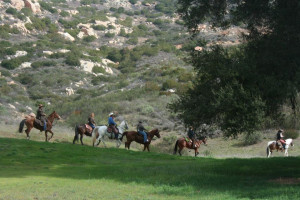 Bring your horse at San Vicente Golf Resort.