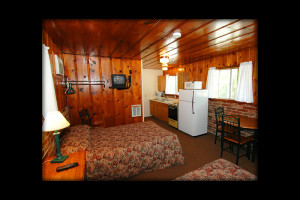 Guest room at Shadrack Resort.
