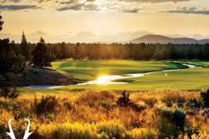 Fazio Golf Course hole 6 at Pronghorn Resort.