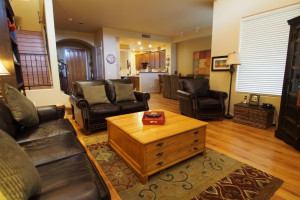 Vacation rental living room at SkyRun Vacation Rentals - Scottsdale, Arizona.