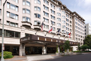 Exterior view of Fairmont Washington DC.