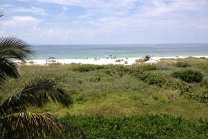 The beach at Lizzie Lu's Island Retreat.