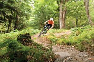 Biking at Stowehof Inn & Resort.