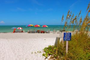 Beach at Sand Cay Beach Resort.