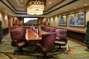Executive Boardroom at Cheyenne Mountain Resort.