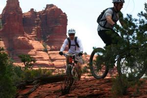Biking at Red Agave Resort.