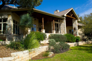 Rental exterior view of Hill Country Premier Lodging.