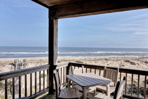 Beautiful Deck View at Hatteras Realty