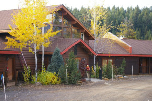 Exterior view of Bear Creek Lodge.