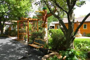 Garden at Shorewood Resort.