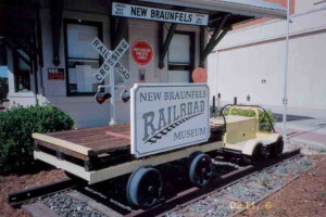 New Braunfels Railroad Museum near River City Resorts.