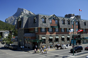 Exterior view of Mount Royal Hotel.