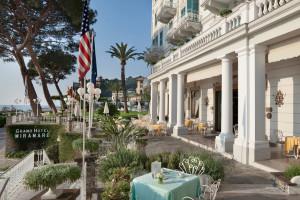Exterior view of Grand Hotel Miramare.
