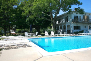 Outdoor pool at Townsend Manor Inn.