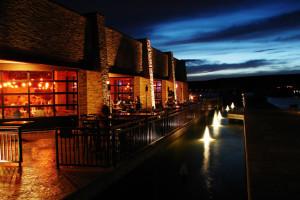 Restaurant exterior at Antelope Point.