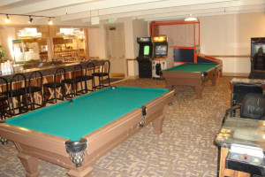 Pool tables at Chaparral Suites Scottsdale.