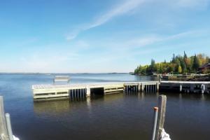 Lake view at Birchwood Resort.