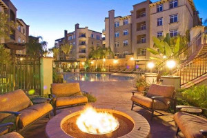 Vacation rental patio at Oakwood Worldwide Archstone Playa del Rey.