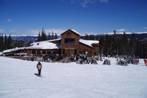 Skiing at The Lodge and Spa at Breckenridge.
