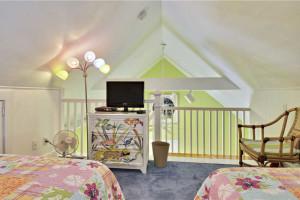 Rental loft at At Home in Key West, LLC.