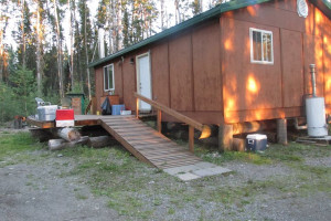 Cabin at Woman River Camp