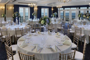 Wedding reception at Madison Beach Hotel.