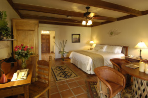 Casita guest room at Tubac Golf Resort & Spa.