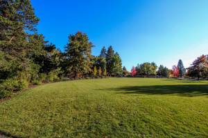 Golf course near at Vacasa Rentals Sunriver.