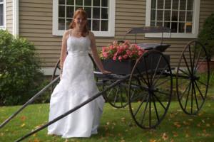 Bride at The Inn at Willow Pond.