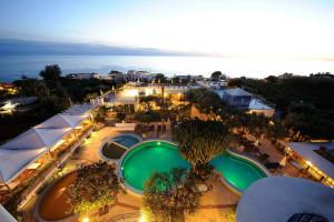 View from Hotel Terme Gattopardo.