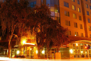 Exterior view of Residence Inn Sacramento Downtown at Capitol Park.
