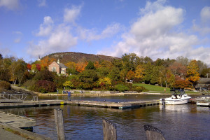 Fall colors near The Inns at Blackberry Common.