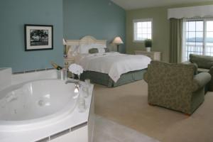 Suite interior at Bay Pointe Inn.
