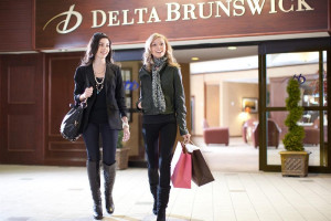 Entrance at Delta Brunswick.