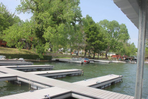 Docks at Rio Vista Resort.
