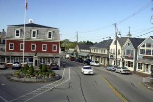 Town near The Nonantum Resort.