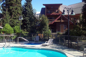 Outdoor pool at Whistler Premier Resort.