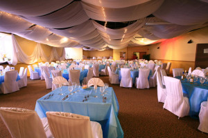 Wedding reception at Holiday Isle Oceanfront Resort.