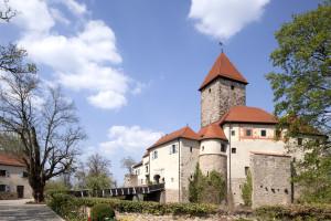Exterior view of Hotel Burg Wernberg.