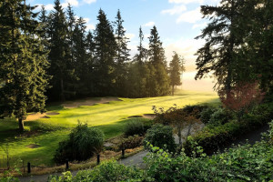 Golf course at The Resort At Port Ludlow.