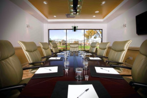 Conference room at La Torretta Lake Resort.