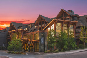 Exterior view of Solara Resort & Spa.