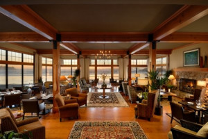 The Great Room at Long Beach Lodge Resort.
