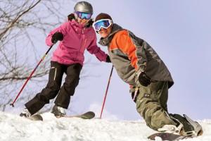 Skiing at The Woodstock Inn & Resort.