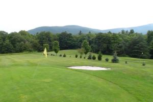Golf course at Winter Clove Inn.